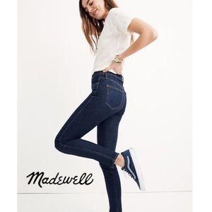 """NWOT Madewell 10"""" High Rise Skinny Jean"""